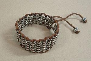 Chain-Weave-Bracelet