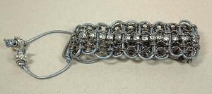 leather chain rhinestone wrap