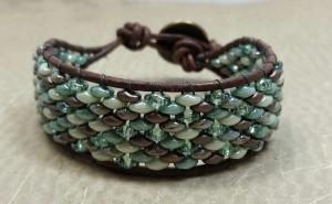 Superduo Mosaic Bracelet