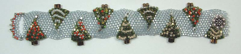 Christmas Tree Bracelet